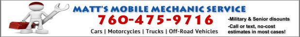 Matts Mobile Mechanic