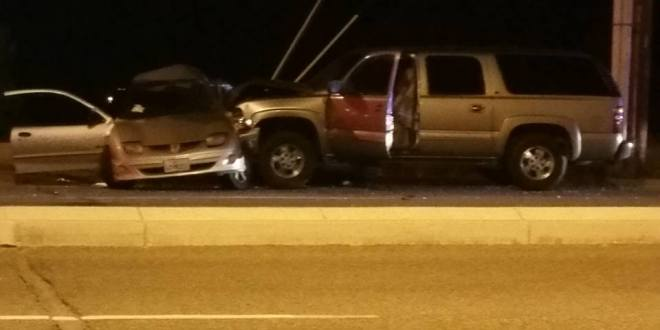 One man airlifted for treatment of injuries sustained in Hesperia Crash.