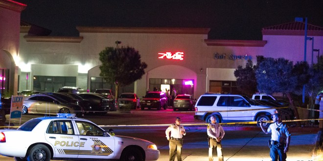 A man was killed on March 20th outside the Xhale Hookah Lounge in Hesperia. (Gabriel D. Espinoza)