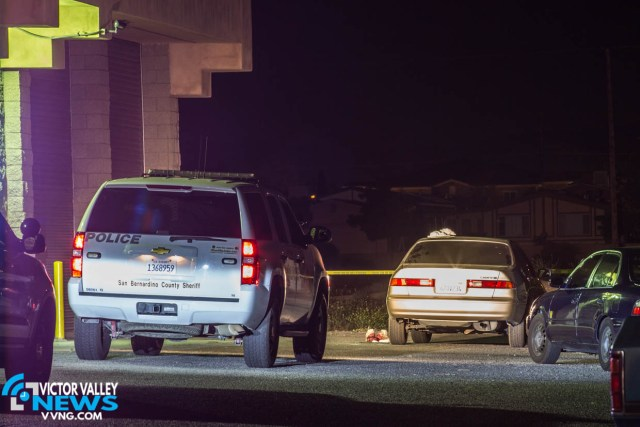 The victim was stabbed at an unknown location but drove to his place of work before losing consciousness. (Gabriel D. Esipinoza, Victor Valley News)