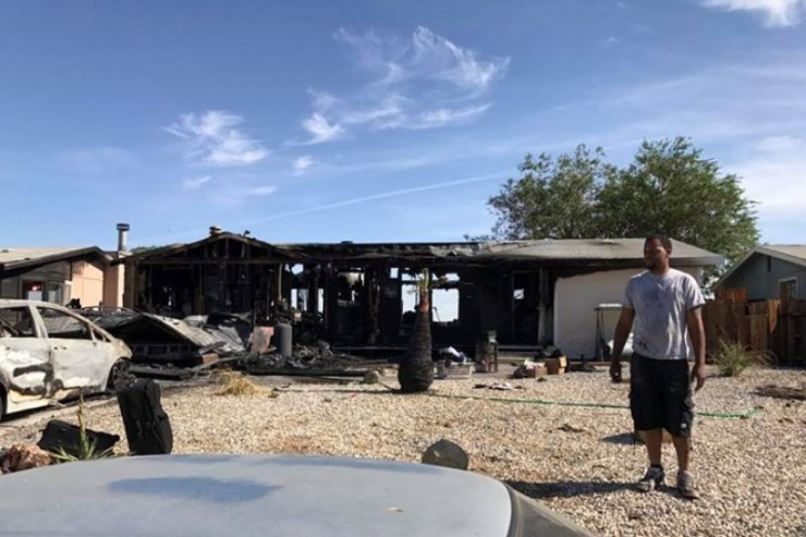 A family is in need of essential items after losing everything in an early morning fire. (source: GoFundMe)
