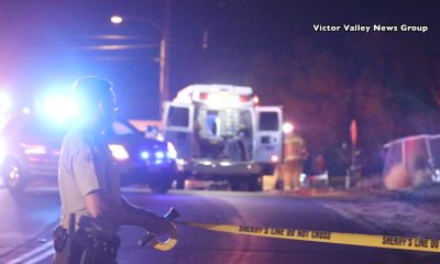 A motorcyclist died trying to flee from police. (Gabriel D. Espinoza, Victor Valley News)
