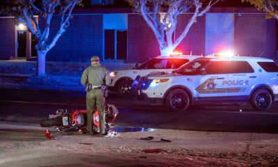 2 people were airlifted after crashing in Victorville. (Gabriel D. Espinoza , VVNG.com)