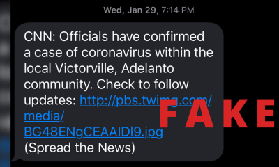 coronavirus fake threat