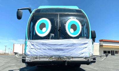 vvta bus with face covering victorville