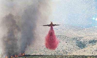 Lucerne Valley Fire