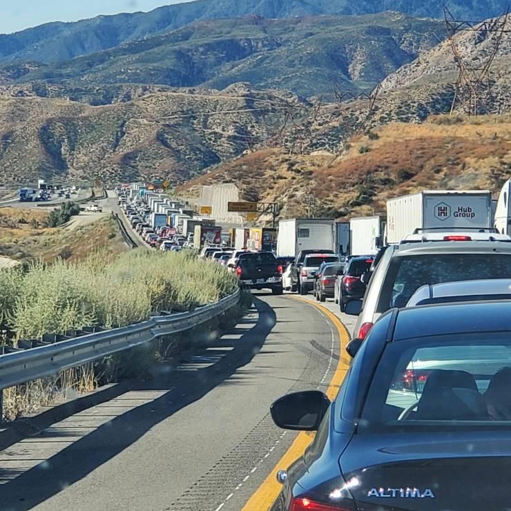 cajon pass traffic accident