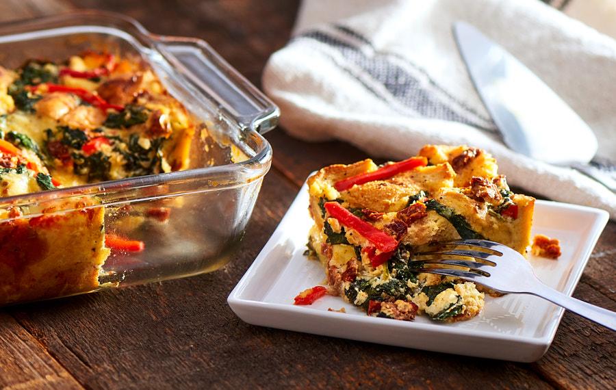 Vegetarian Breakfast Strata Recipes