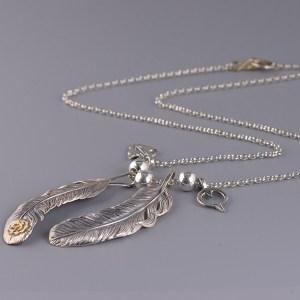 Men's Feather Necklace