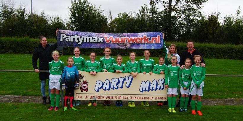 Vogelwaarde MO13 met sponsor Party Max