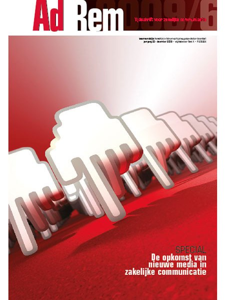 2009/6 – Themanummer over de opkomst van nieuwe media in zakelijke communicatie