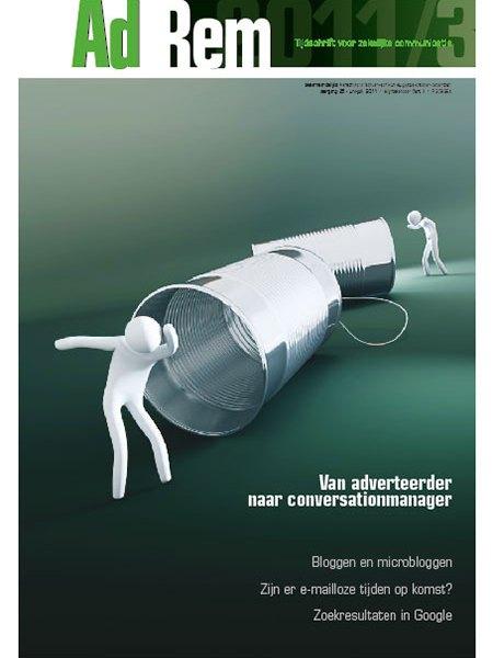 2011/3 – Van adverteerder naar conversationmanager