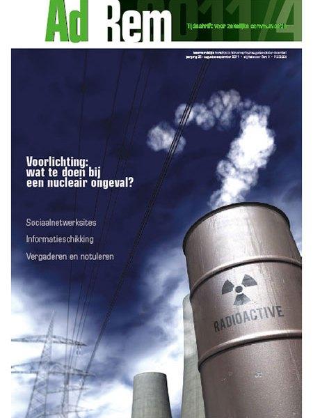 2011/4 – Voorlichting: wat te doen bij een nucleair ongeval?