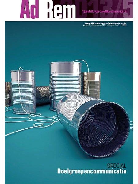 2013/5 – Themanummer over doelgroepencommunicatie