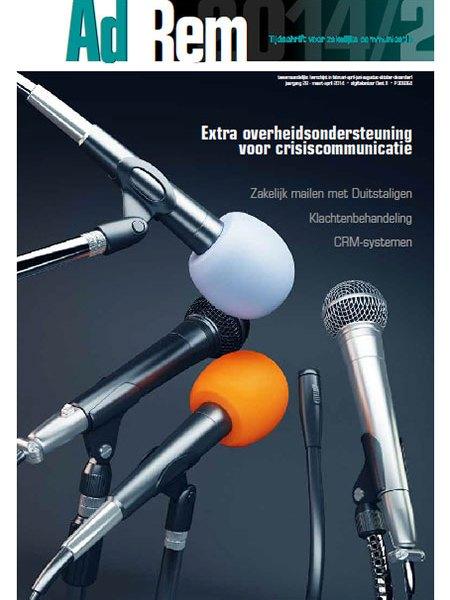 2014/2 – Extra overheidsondersteuning voor crisiscommunicatie