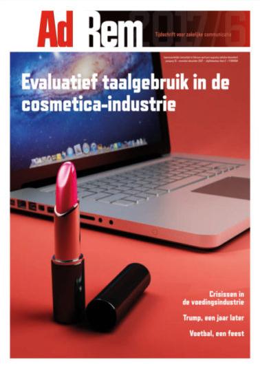 2017/6 – Evaluatief taalgebruik in de cosmetica-industrie