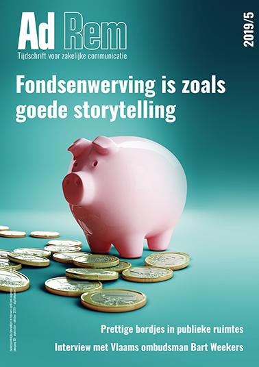 2019/5 – Fondsenwerving is zoals goede storytelling