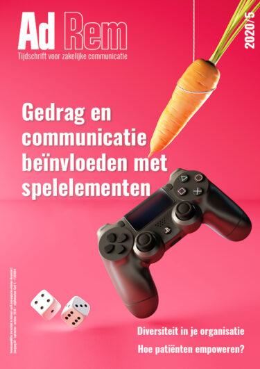 Ad Rem 2020/5 – Gedrag en communicatie beïnvloeden met spelelementen