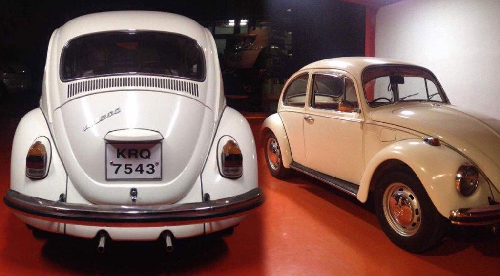 Zain Bilgrami's Epic VW Beetle Restoration in Hyderabad