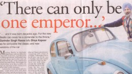 Gurinder Singh Rance tells Divya Kapoor as he compares the classic and new versions of the car