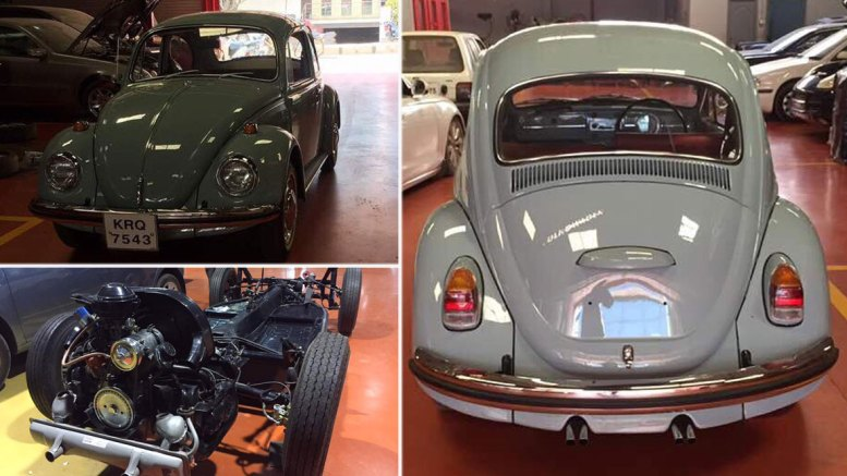 Restoration of VW Beetle - Hyderabad