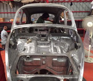 VW Restoration in India (Hyderabad)