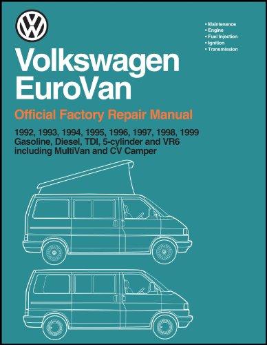 For VW EuroVan Transporter Gasoline TDI Diesel VR6 Service Repair Manual