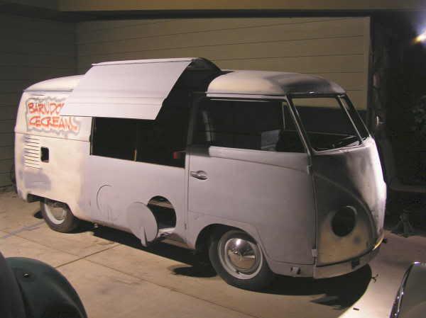 Barndoor Ice Cream Van