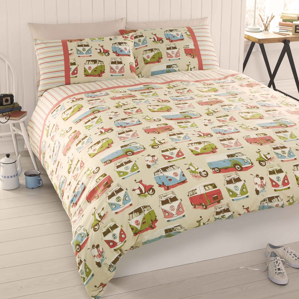 Cool Campervan Duvet Cover Set