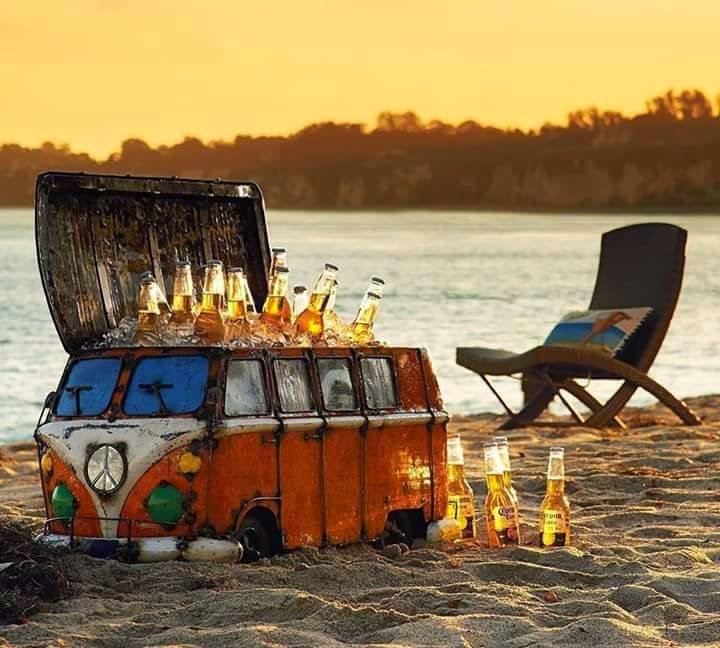 The Ultimate VW Camper Beer Cooler