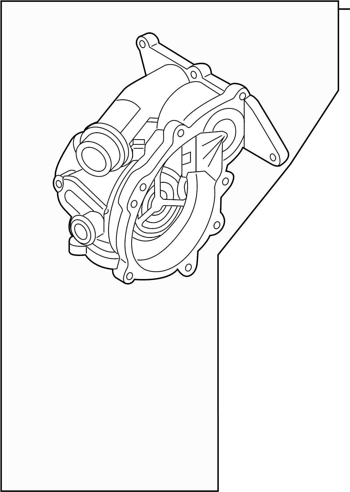 Volkswagen Passat Thermostat Main Liter Pump