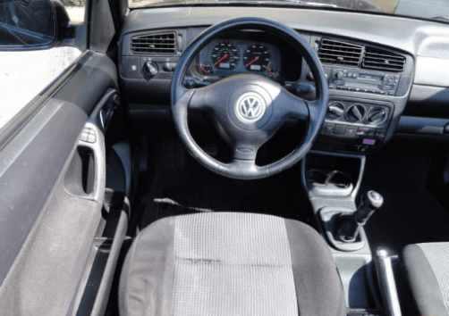 1999 Volkswagen Cabrio Interior and Redesign