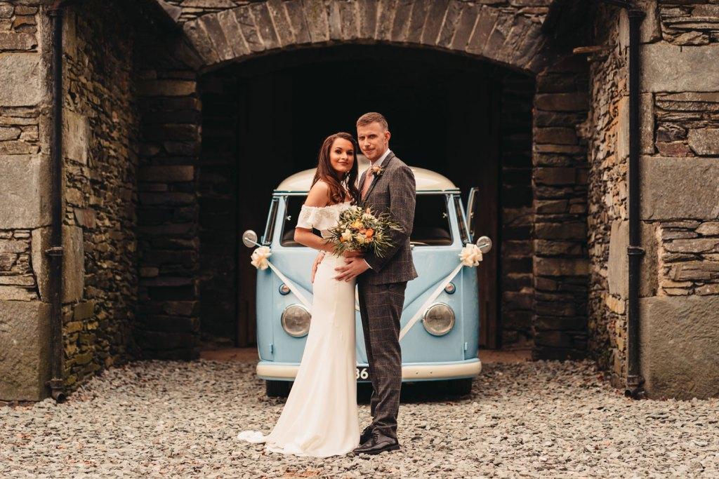 VW Wedding Campervan Wedding Lake District