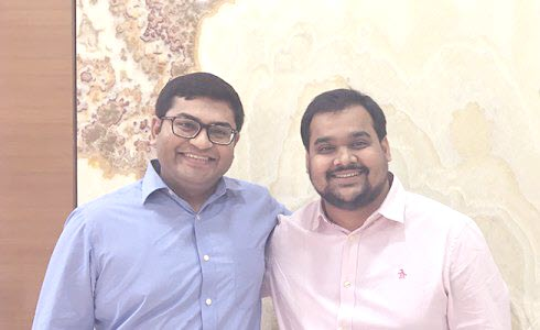 Founding Members of LegalWiz.in — Naman Pipara (Left) and Shrijay Sheth (Right)