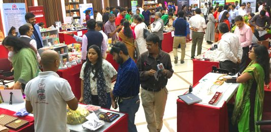 Gifting exhibition corporate event by GCCI BWW