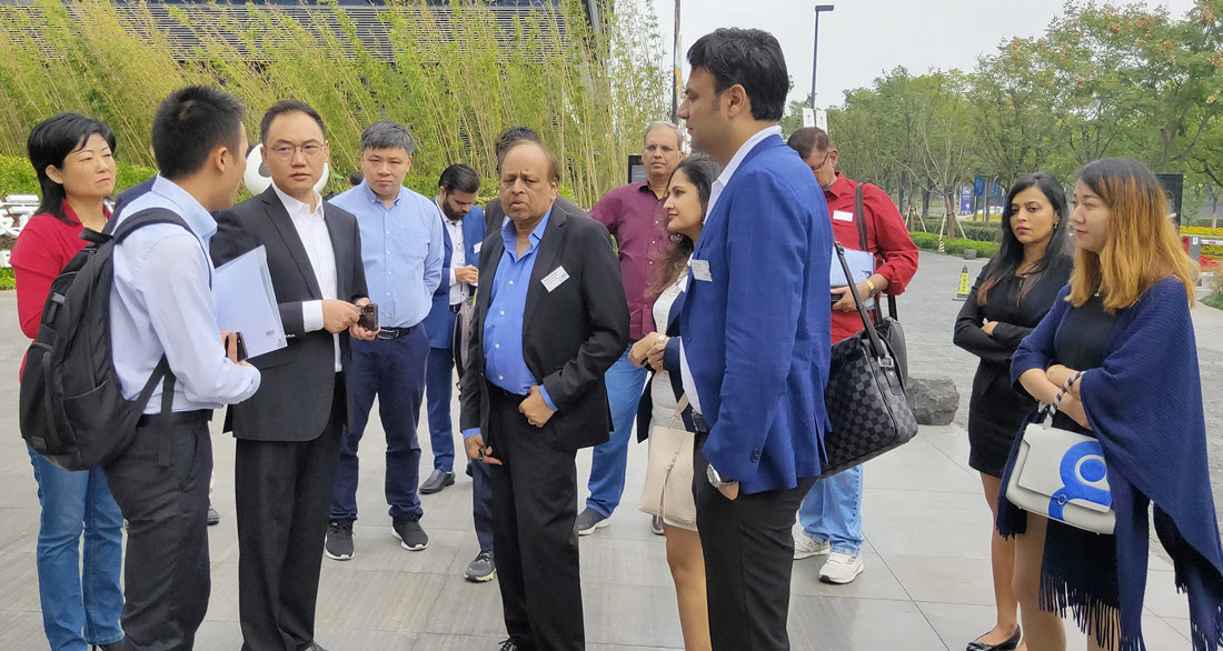 IBG china delegation