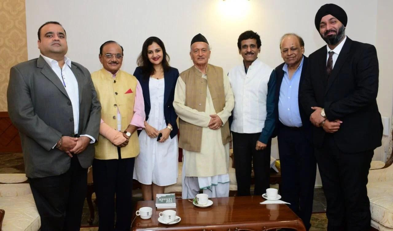 Meeting with Governor of Maharashtra, His Excellency Hon. Shri Bhagat Singh Koshiyari