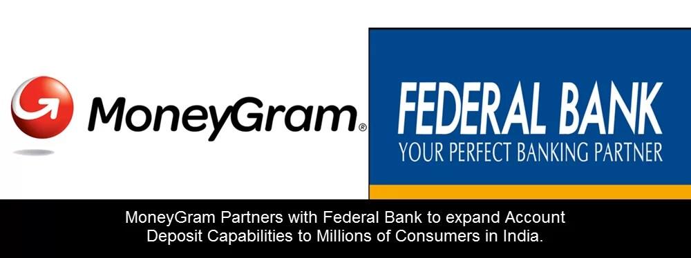 Federal Bank ties up with MoneyGram