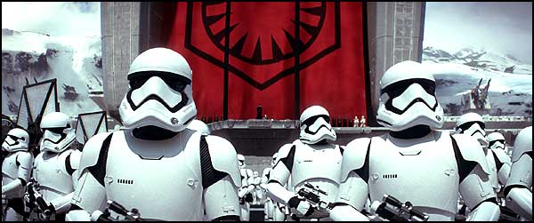 Stormtrooper in The Force Awakens.