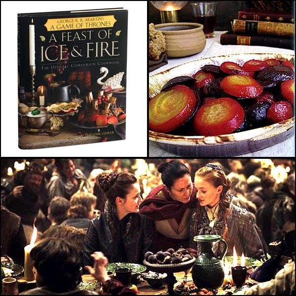 Geek Cookbook covers - Game of Thrones