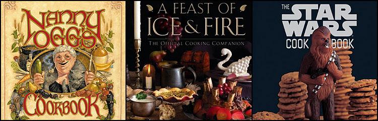 Geek Cookbook covers