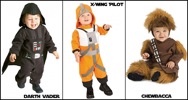 Star Wars Baby Costumes Funidelia