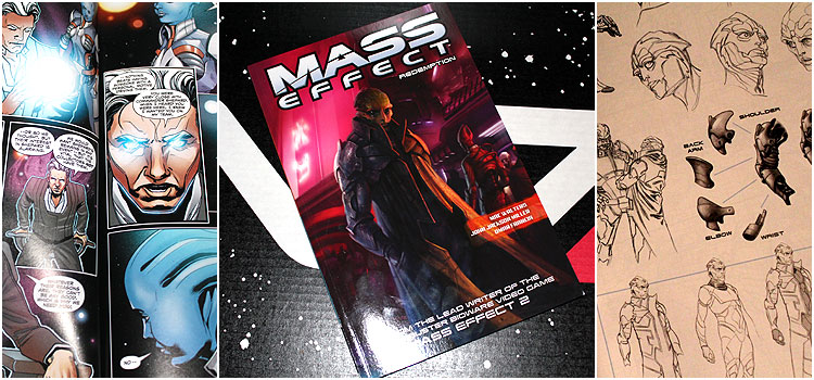 Mass Effect Loot Crate comic