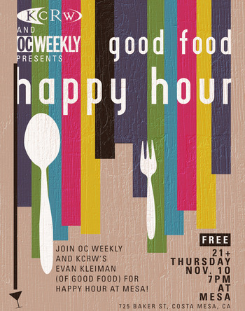 OC Weekly Happy Hour Event