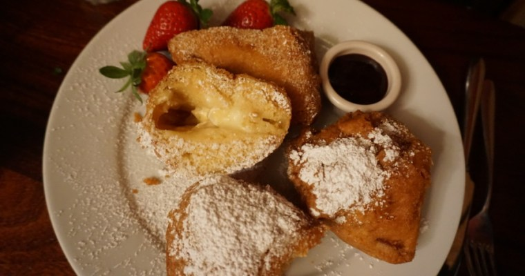 Three-Cheese Monte Cristo at the Cafe Orleans