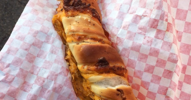 Cheddar Garlic Bagel Twist at the Disneyland Resort