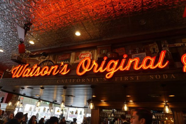 Watson's Soda Fountain and Cafe in Orange