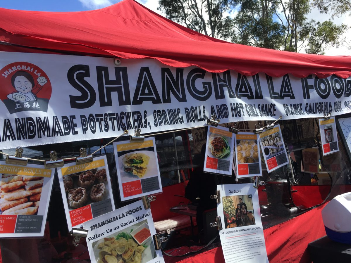 Shanghai LA Foods at the Irvine Farmers Market | Vy Loves to Eat