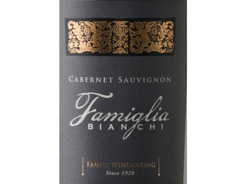 Bianchi FAMIGLIA CABERNET SAUVIGNON Mendoza Vyno Katalogas