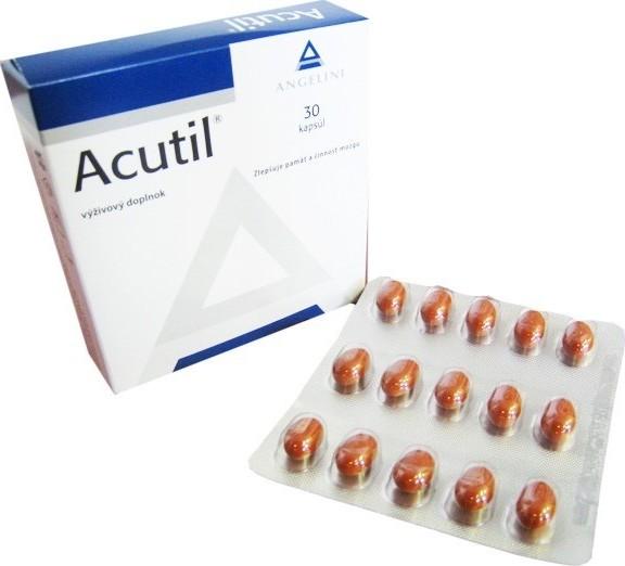 Acutil - výživový doplnok na pamäť - skúsenosti, dávkovanie a cena